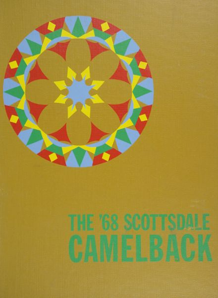 1968 Scottsdale High School Yearbook Cover