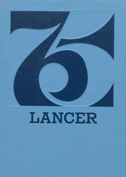1975 Canby High School Yearbook Cover