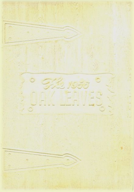 1956 Southmont High School Yearbook Cover