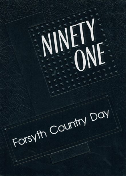 1991 Forsyth Country Day Yearbook Cover