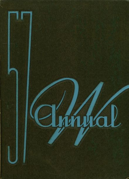 1957 Waukegan High School Yearbook Cover