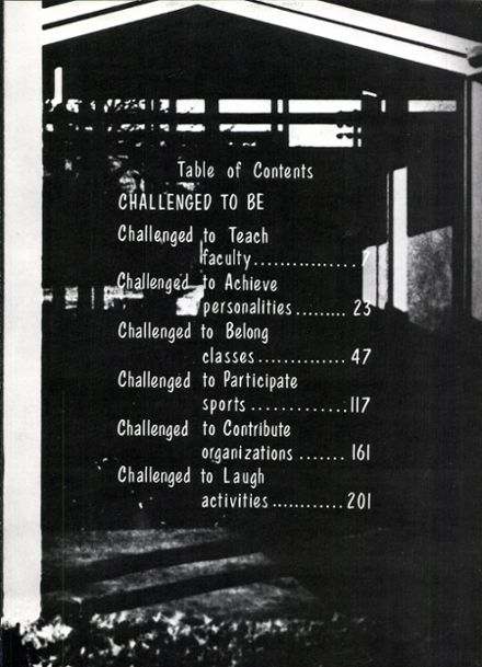 1967 Gainesville High School Yearbook Page 7