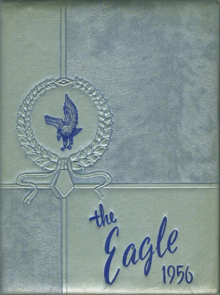 1956 Holly Ridge High School Yearbook Cover