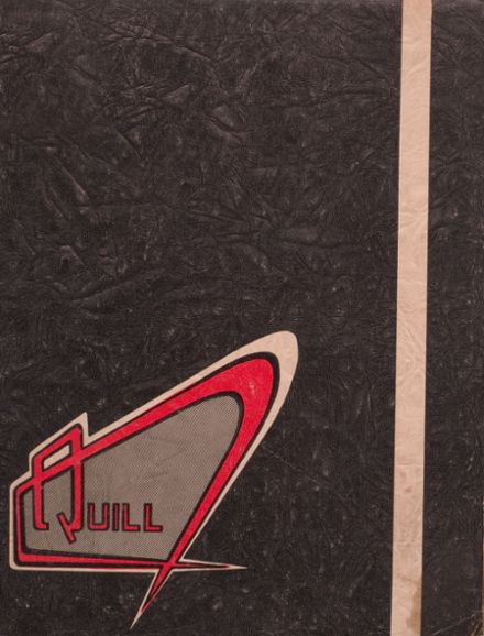 1958 East High School Yearbook Cover
