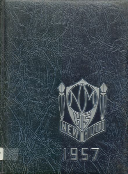 1957 New Milford High School Yearbook Cover