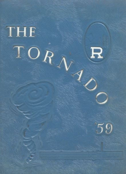 1959 Richlands High School Yearbook Cover