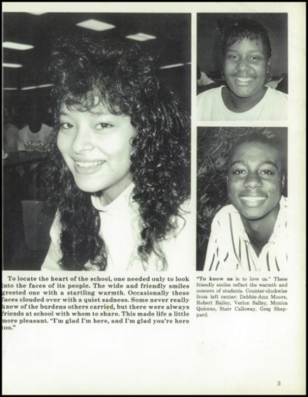 1990 Boyd Anderson High School Yearbook Page 7