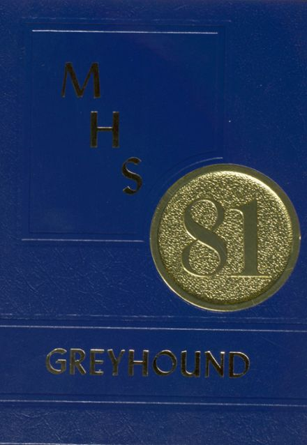 1981 Manchester High School Yearbook Cover