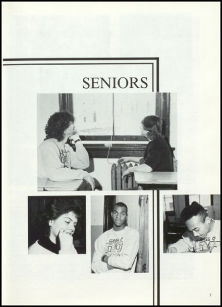 1988 Maysville High School Yearbook Page 9
