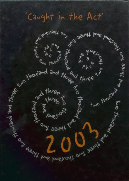 2003 North Union High School Yearbook Cover