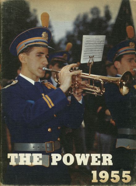 1955 Power Memorial Academy Yearbook Cover