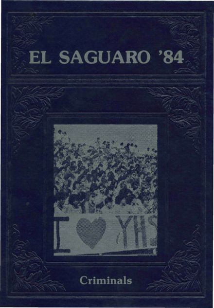 1984 Yuma Union High School Yearbook Cover