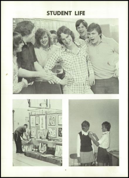 1974 Northampton High School Yearbook Page 6