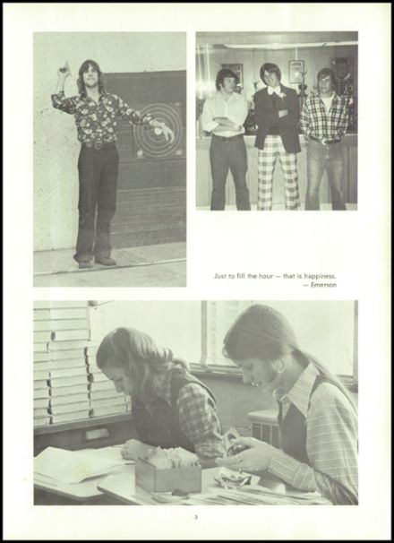 1974 Northampton High School Yearbook Page 7