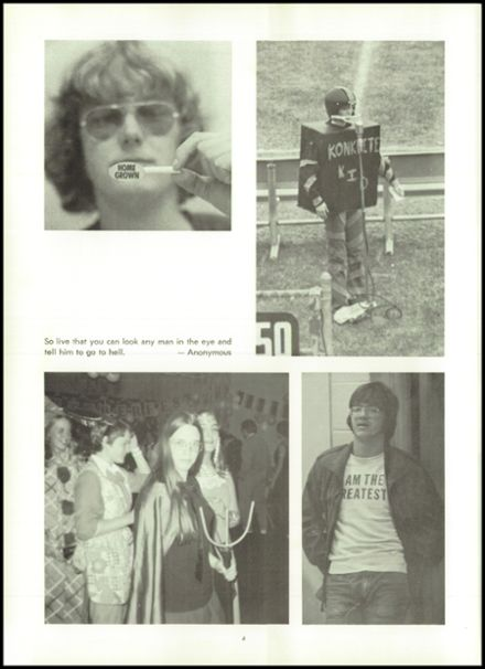 1974 Northampton High School Yearbook Page 8