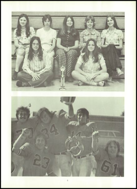 1974 Northampton High School Yearbook Page 9