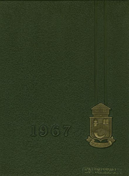 1967 Waite High School Yearbook Cover