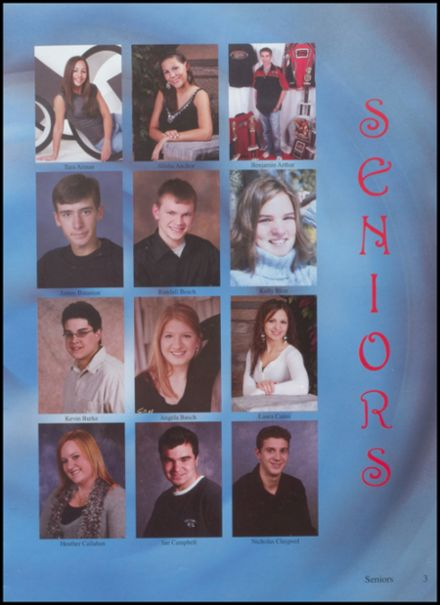2007 Jefferson Area High School Yearbook Page 7