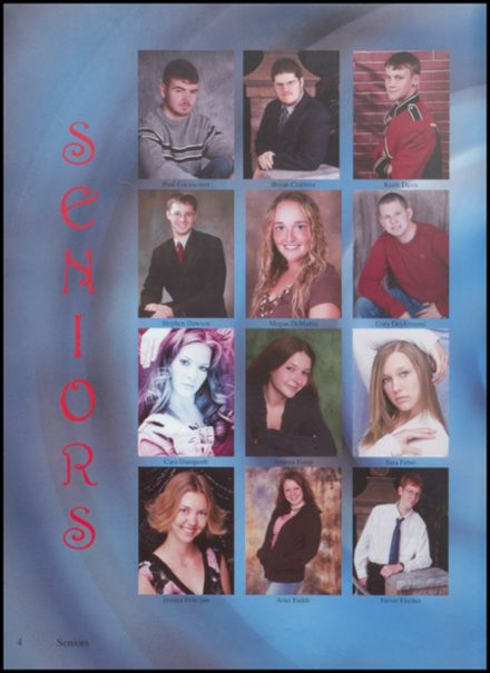 2007 Jefferson Area High School Yearbook Page 8
