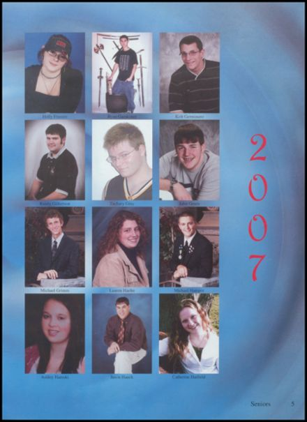 2007 Jefferson Area High School Yearbook Page 9