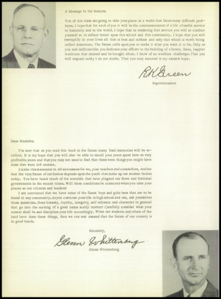 1956 Post High School Yearbook Page 8