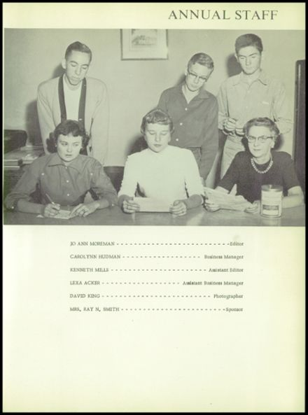 1956 Post High School Yearbook Page 9