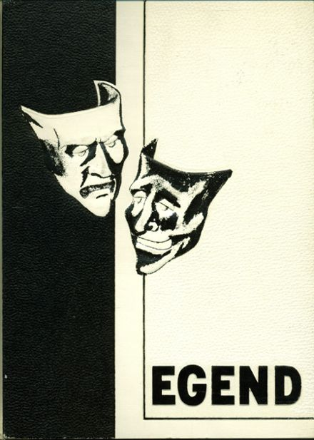 1964 Ottawa Hills High School Yearbook Cover