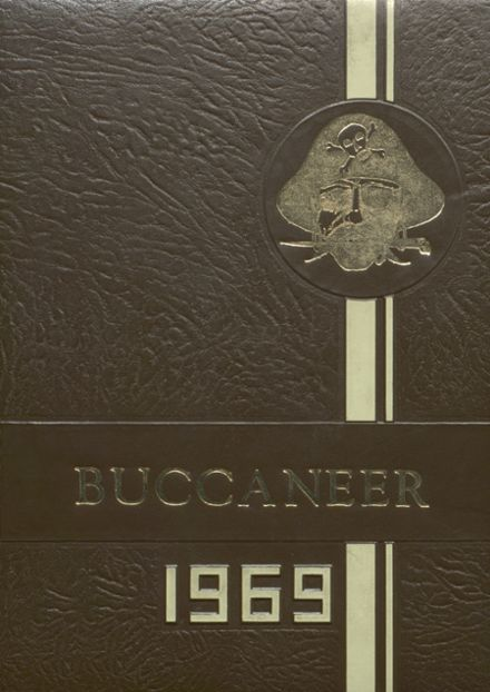 1969 Covington High School Yearbook Cover
