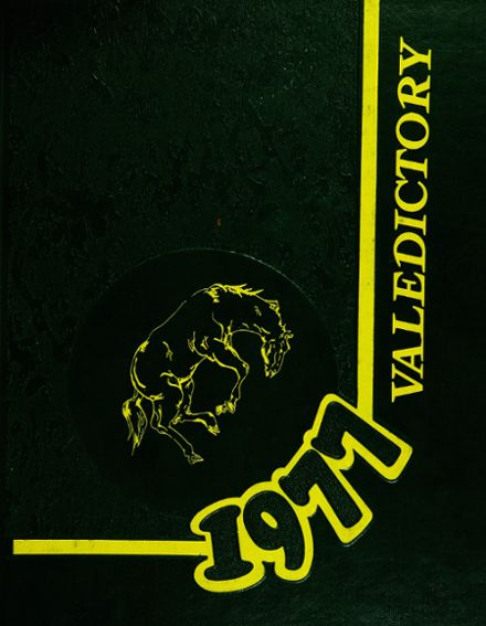 1977 Sussex County Vo-Tech High School Yearbook Cover