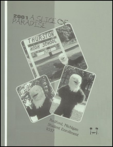 2001 Thurston High School Yearbook Page 5