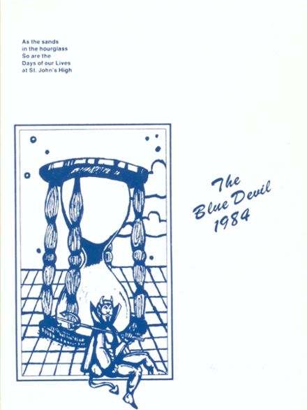 1984 St. John's High School Yearbook Cover