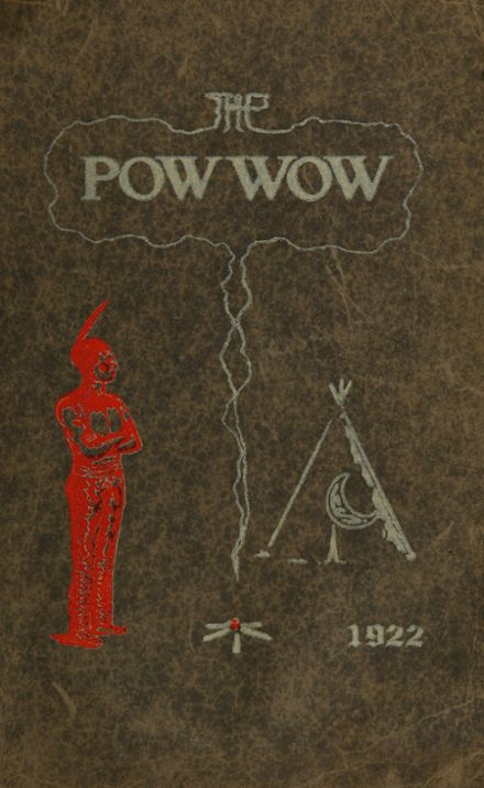 1922 Caldwell High School Yearbook Cover