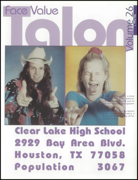 1998 Clear Lake High School Yearbook Page 5