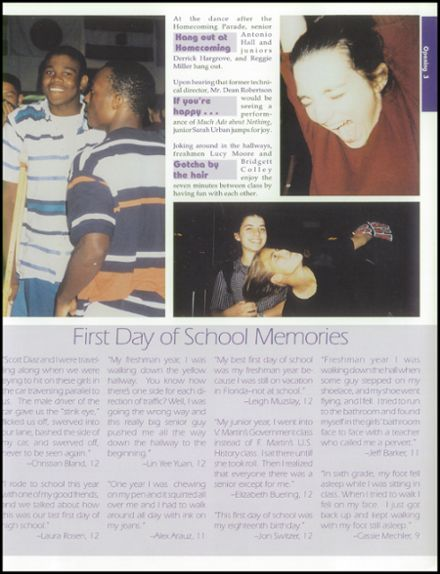 1998 Clear Lake High School Yearbook Page 7