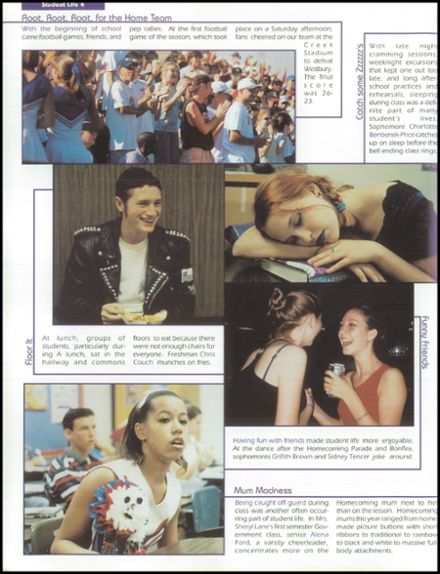 1998 Clear Lake High School Yearbook Page 8