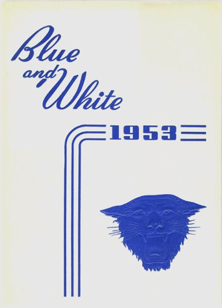 1953 White Pine County High School Yearbook Cover