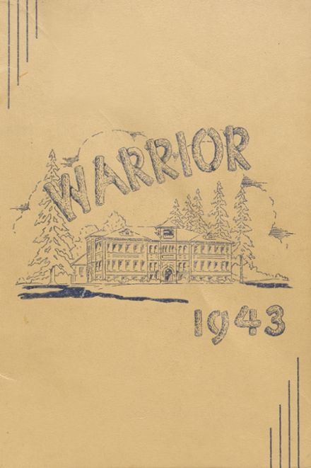 1943 Lebanon Union High School Yearbook Cover