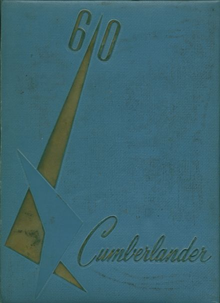 1960 Cumberland Township High School Yearbook Cover