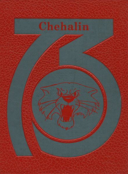 1973 W.F. West High School Yearbook Cover