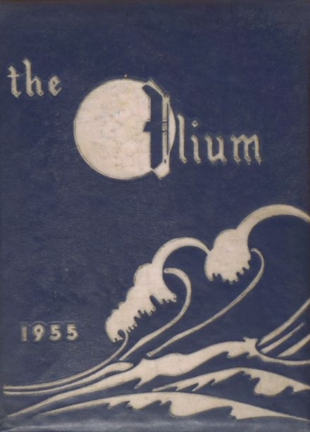 1955 Captain Jack Joint High School Yearbook Cover