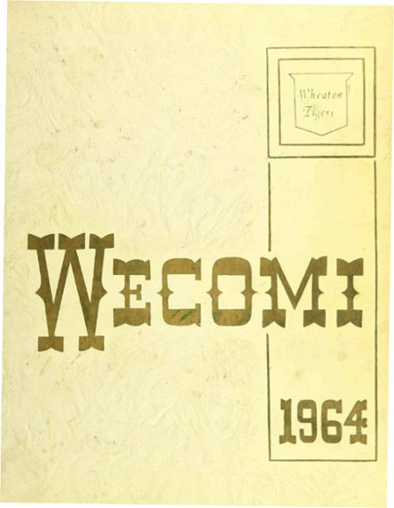 1964 Wheaton Community High School Yearbook Cover