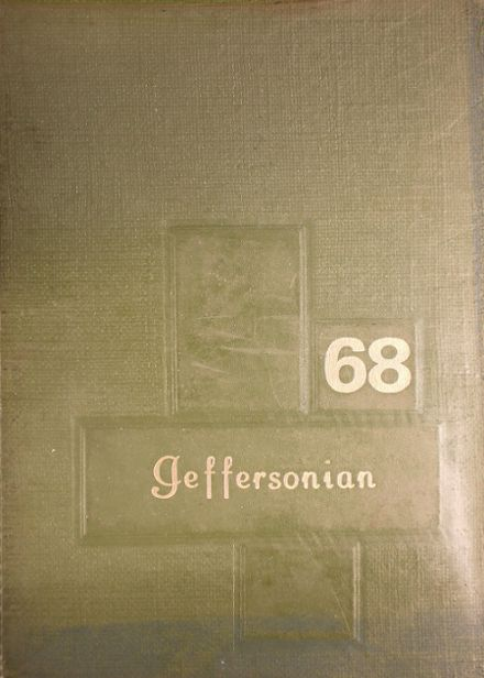 1968 Jefferson-Morgan High School Yearbook Cover