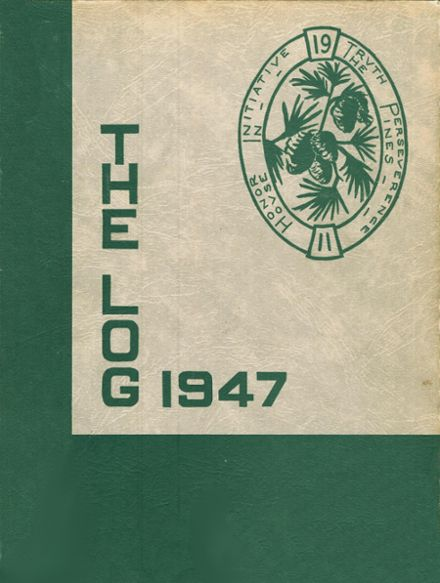 1947 House In The Pines High School Yearbook Cover