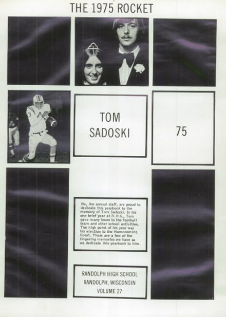 1975 Randolph High School Yearbook Page 5