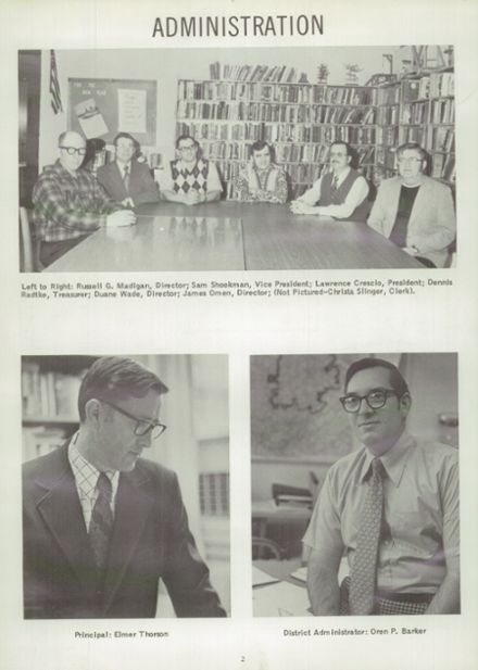 1975 Randolph High School Yearbook Page 6
