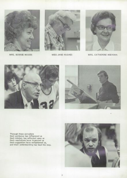 1975 Randolph High School Yearbook Page 7