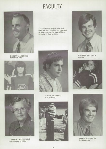 1975 Randolph High School Yearbook Page 8