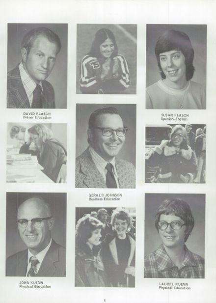 1975 Randolph High School Yearbook Page 9