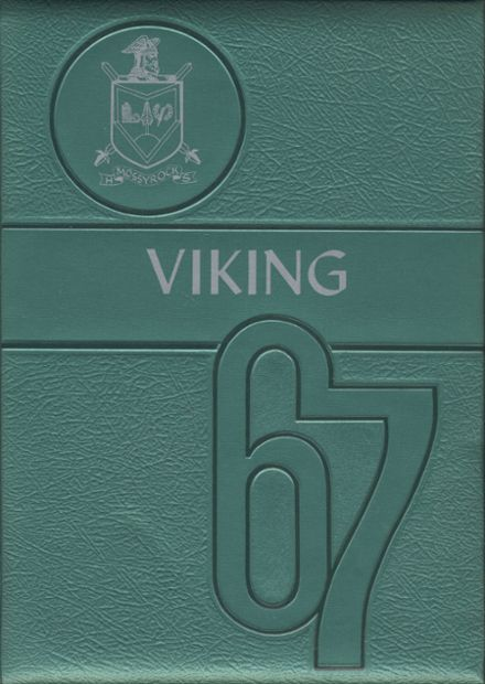 1967 Mossyrock High School Yearbook Cover