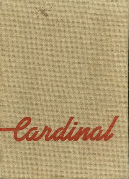 1948 Glendale High School Yearbook Cover